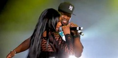 FINALLY! 50 Cent and Lil Kim Perform 'Magic Stick' Live For First Time Ever In Australia