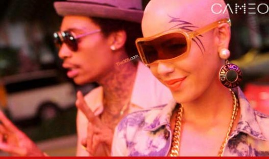 Did Amber Rose Ink Her Face?!?
