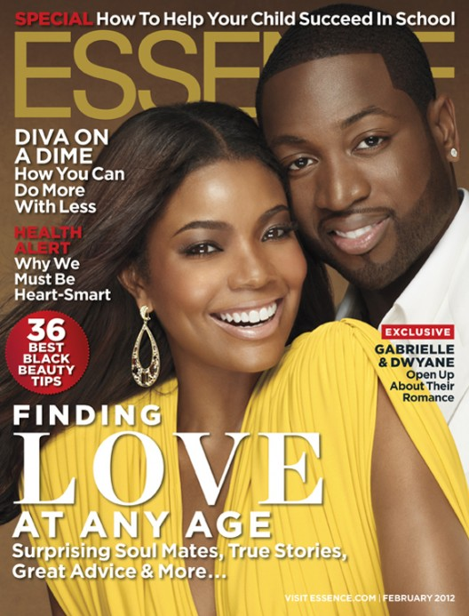 Gabrielle Union and Dwyane Wade for Essence February 2012