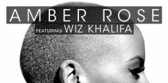 Amber Rose Shares Artwork For New Single Feat Wiz Khalifa