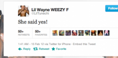 Lil Wayne Soon To Be Married?