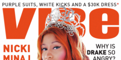 Nicki Minaj Covers VIBE Magazine + New Music: