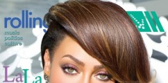 LaLa Anthony Looks Lovely On The Cover Of Rolling Out Magazine
