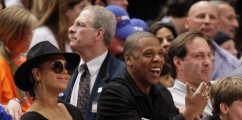 Beyonce & Jay Z Courtside At The Miami Heat Vs New York Knicks [PHOTOS]