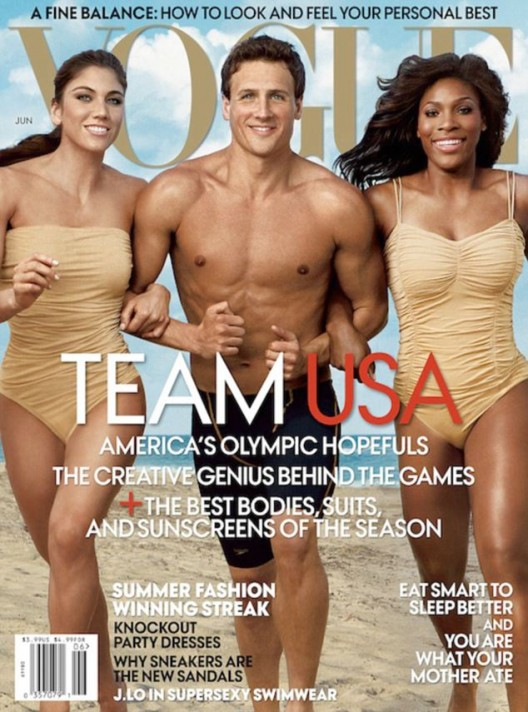 Vogue Magazine Celebrates The Olympics For It's June 2012 Issue