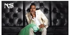 "Nas  Poses On The Cover Of His New Album ""Life Is Good"" With Kelis Green Wedding Dress!"