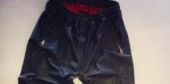 [ROCK or NOT] En Noir Leather Unisex Sweat Pants