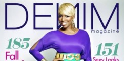 NeNe Leakes Looks FAB On The Cover Of Denim Magazine
