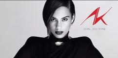 Album Cover: Alicia Keys 'Girl On Fire'