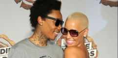 Amber Rose Expecting First Child With Wiz Khalifa!!