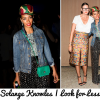 Mixing Prints: Starring Solange Knowles