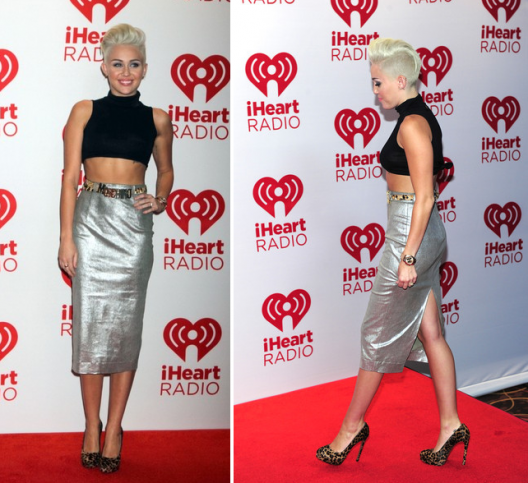 ROCKIN or NOT?.... Miley Cyrus Mixes Silver x Gold x Leopard