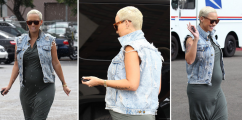 Get Her Look: Amber Rose [Expecting Mother Style]