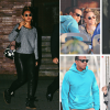 SPOTTED:  Beyonce' Rocks Laid Back Yet Edgy Look On Dinner Date With Hubby Jay-Z