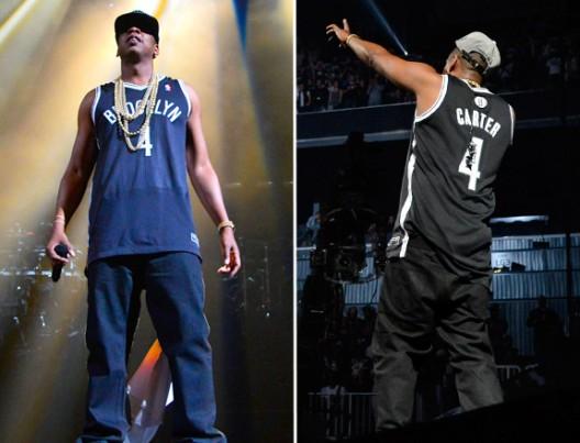 You Can Bid On Jay-Z's Autographed Carter #4 Brooklyn Nets Jerseys