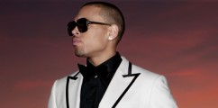 Chris Brown Signs Modeling Contract With Wilhelmina International