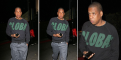 Jay-Z Rocks Acne Shirt x Nike Air Force 180 Kicks: Ladies Get His Look For Less
