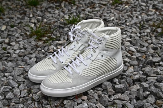Fellas Check It Out: Balenciaga Spring/Summer 2013 White Pleated Sneakers