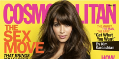 Kim Kardashian Covers 'Cosmo' Magazine + KimYE Pose Nude For L'Officiel Hommes Magazine