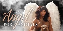 PETA LOVE: Actress Taraji P. Henson Wants You To Be An Angel For Animals [Photo + Video]