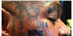 WTF NEWS: More INK For Birdman's FACE!