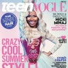 @NickiMinaj Graces The Cover Of Teen Vogue