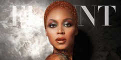 Beyonce' Is A Glitter Goddess On The Cover Of 'Flaunt' Magazine'