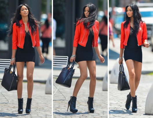 Get Chanel Iman LOOK For Less: Rocker Chic