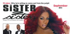 K.Michelle Covers Sister 2 Sister Magazine September 2013 Issue