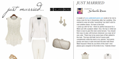 Addicted2Candi STYLE MAIL: All White Everything Just Married Style