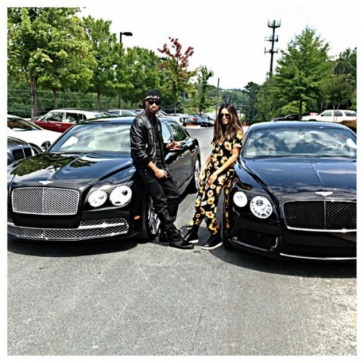 MATCH HER FLY: Future & Ciara Buy Matching 2014 Bentleys
