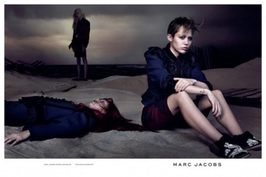 New Face Alert: Miley Cyrus For Marc Jacobs' Spring Collection