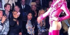 Congrats: Rapper Lil Kim Spotted At NYFW Sporting Baby Bump