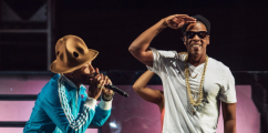 Pharrell & Jay-Z Perform At Coachella 2014