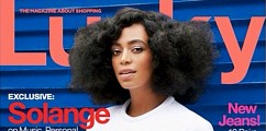 Solange Knowles Graces The Cover Of Lucky Magazine: Lightly Addresses Her Jay Z Elevator Attack