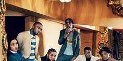 HARLEM LOVE: A$AP Mob & Cam'ron Appear In GQ Magazine