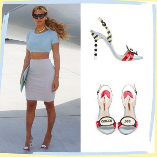 Beyonce' Stylin In Sophia Webster