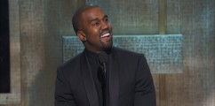 Kanye West Receives Visionary Award At