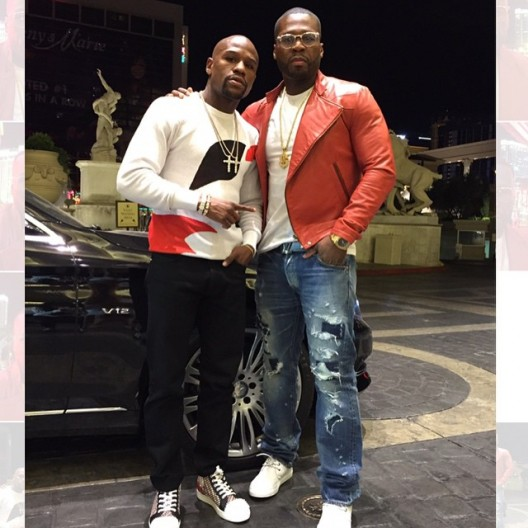 BEEF OVER: 50 CENT & FLOYD MAYWEATHER KISS & MAKE UP