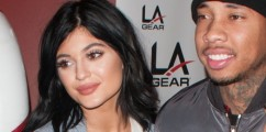 NEW INK ALERT: Did Tyga Get Rumored Girlfriend Kylie Jenner's Name Tatted On His Arm?