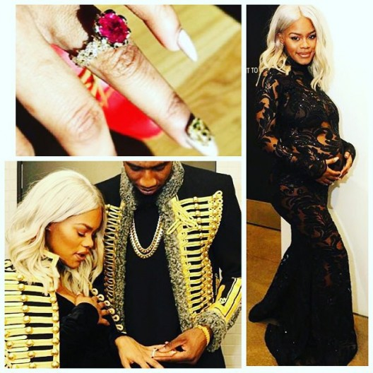 SHE SAID YES: TEYANA TAYLOR & IMAN SHUMPERT ARE NOW ENGAGED