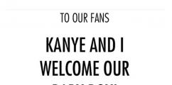 It's A Boy: Kim Kardashian & Kanye West Reveal The Name Of Their Newborn Son