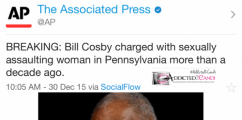 Bill Cosby Charged With Felony Sexual Assault