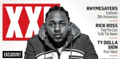 Kendrick Lamar x XXL Magazine Winter 2015 Issue