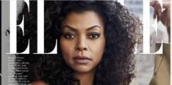 ACTION:Taraji P. Henson Graces the Cover of ELLE Magazine's February 2016 Issue