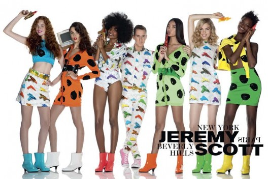 SHOE TALK: Designer Jeremy Scott Releases SS16 Campaign Featuring Melissa Shoes