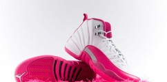 "The Air Jordan 12 GS ""Vivid Pink"" Drops This Weekend"