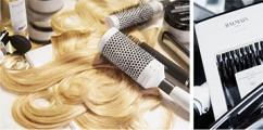 Check Out Balmain Hair Couture Spring 2016 Featuring Models Noemie Lenoir x Cindy Bruna, x Devon Windsor