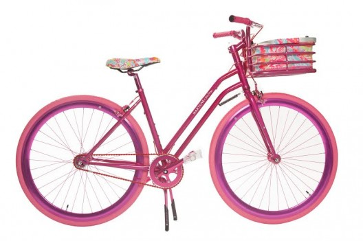 Check Out The Super Stylish Bike From Martone Cycling x Lilly Pulitzer