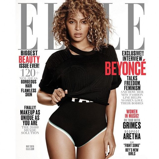 Beyonce Graces The Cover Of ELLE Magazine + Reveals New Activewear Line 'Ivy Park'